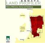 Agmaps land profiler CD-ROM. Shires of Waroona, Harvey and Dardanup by Dennis van Gool, Peter J. Tille, Ian Kininmonth, Philip M. Goulding, and Maryse Louise