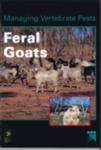 Managing vertebrate pests: feral goats