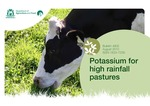 Potassium for high rainfall pastures