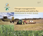 Nitrogen management for wheat protein and yield in the Esperance port zone