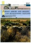Forage shrubs and grasses for revegetating saltland