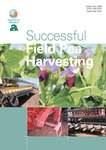 Successful field pea harvesting by Glen Riethmuller and Ian Pritchard