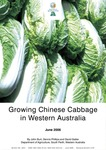 Growing chinese cabbage in Western Australia by John Burt, Dennis Phillips, and David Gatter