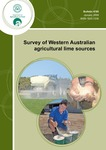 Survey of Western Australian agricultural lime sources