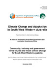 Climate change and adaptation in south west Western Australia by State Greenhouse Action Committee and Luke Morgan