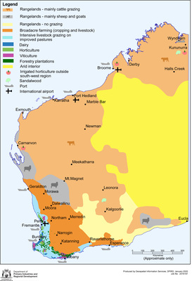 Generalised Land Use of Western Australia