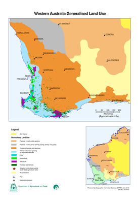 Generalised Land Use of South West Western Australia
