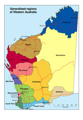 Generalised regions of western australia by philip m goulding document type gumiabroncs Image collections