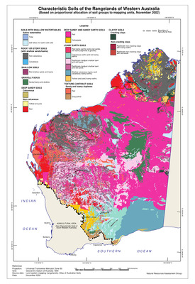 Characteristic Soils of the Rangelands of Western Australia