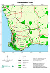 Current Western Australian state barrier fence (SBF) by DAFWA Geographic Information Services